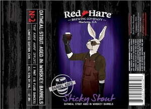 Red Hare Barrel Aged Sticky Stout