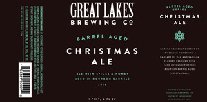 The Great Lakes Brewing Co. Barrel-aged Christmas Ale