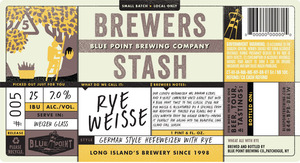 Blue Point Brewing Company Rye Weisse