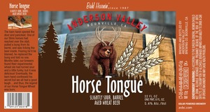 Anderson Valley Brewing Company Horse Tongue