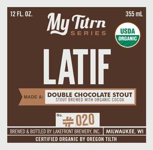 Lakefront Brewery My Turn Series: Latif