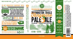 Bellevue Brewing Company Washington Trails Tangerine Pale Ale