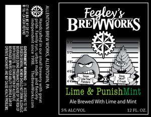 Fegley's Brew Works Lime & Punishmint