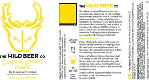 The Wild Beer Co Sleeping Lemons