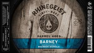 Barrel Aged Barney