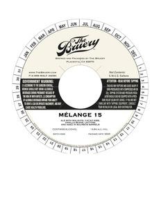The Bruery Melange No. 15