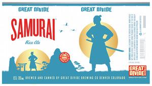 Great Divide Brewing Company Samurai Rice Ale
