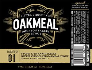 Oakmeal Bitter Chocolate Bourbon Barrel Stout