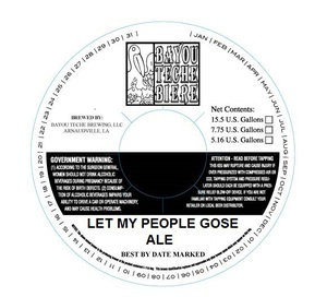Let My People Gose