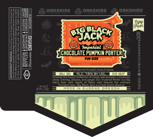 Big Black Jack Ale Brewed With Pumpkin, Cocoa & Spices