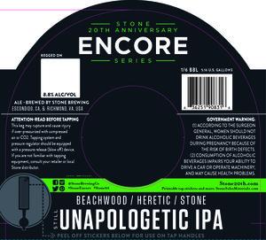 Stone Unapologetic Ipa