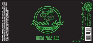 Rumble Seat Beer Project India Pale Ale