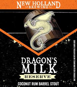 New Holland Brewing Company Dragon's Milk Reserve Coconut Rum Barrel
