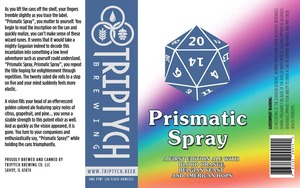 Triptych Brewing Prismatic Spray