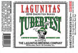 The Lagunitas Brewing Company Tuberfest July 2016