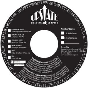 Upstate Brewing Company Ipso Lacto
