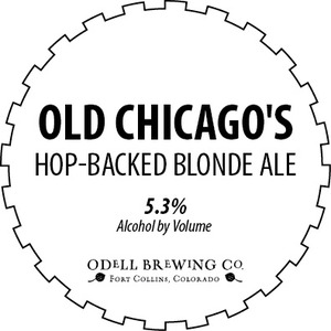 Odell Brewing Company Old Chicago's Hop-backed Blonde Ale