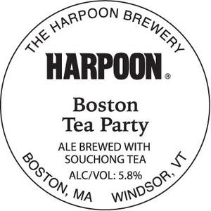 Harpoon Boston Tea Party