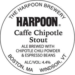 Harpoon Caffe Chipotle