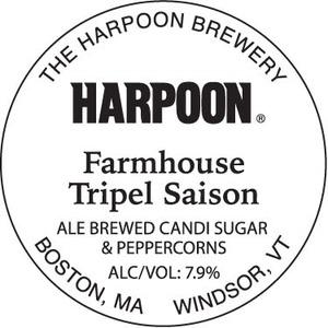 Harpoon Farmhouse Tripel
