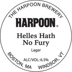 Harpoon Helles Hath No Fury