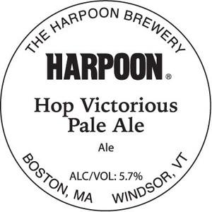 Harpoon Hop Victorious