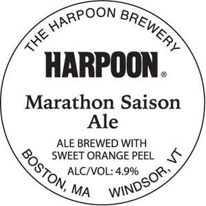 Harpoon Marathon Saison