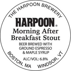 Harpoon Morning After Breakfast