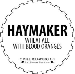 Odell Brewing Company Haymaker Blood Orange Wheat Ale