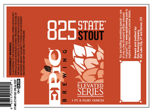 Epic Brewing Company 825 State