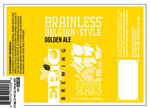Epic Brewing Company Brainless