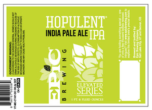 Epic Brewing Company Hopulent