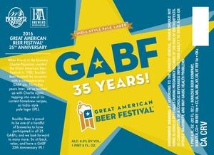 Gabf 35 Years