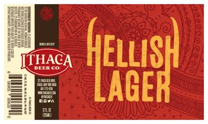 Ithaca Beer Company Hellish Lager