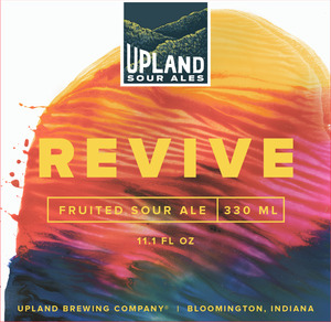 Upland Brewing Company Revive