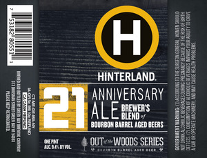 Hinterland 21st Anniversary