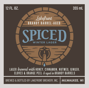 Lakefront Brewery Brandy Barrel-aged Spiced Winter