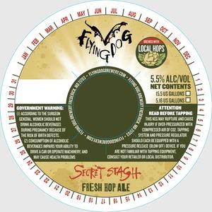 Flying Dog Secret Stash Fresh Hop Ale