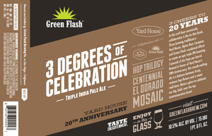Green Flash Brewing Company 3 Degrees Of Celebration