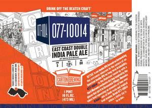 Carton Brewing Co. 077-10014