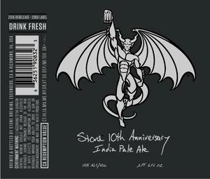 Stone 10th Anniversary India Pale Ale