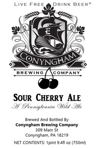 Conyngham Brewing Company Sour Cherry Ale