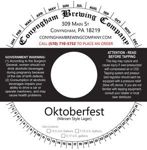 Conyngham Brewing Company Oktoberfest