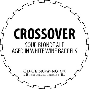 Odell Brewing Company Crossover Sour Blonde Ale July 2016