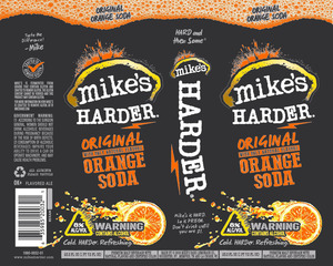 Mike's Harder Original Orange Soda