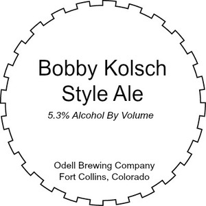 Odell Brewing Company Bobby