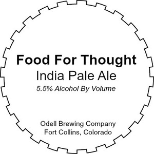 Odell Brewing Company Food For Thought