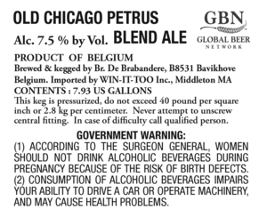 Old Chicago Petrus