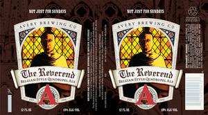 Avery Brewing Co. The Reverend Belgian-style Quadrupel