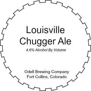 Odell Brewing Company Louisville Chugger